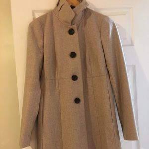 J Crew factory pea coat.